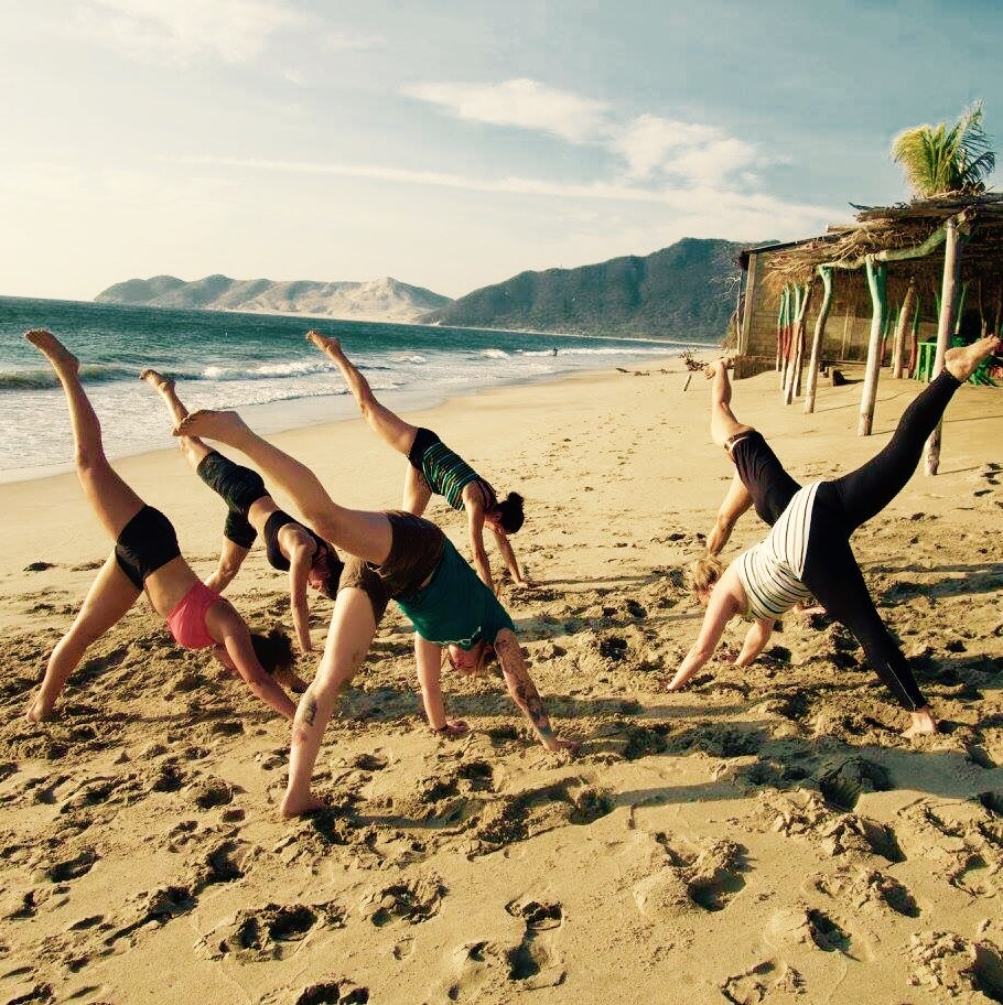 Yoga in Mexico