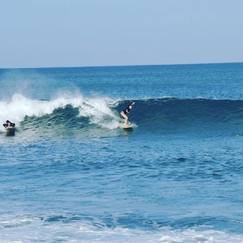 Surfen in La Punta, Mexico