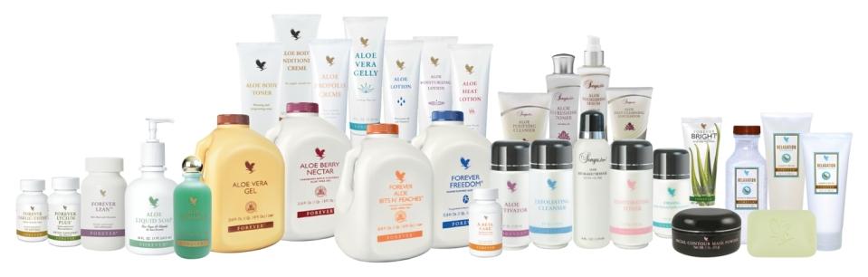 producten van Forever Living webshop