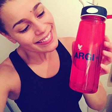 argi+ is mijn favo energiedrank