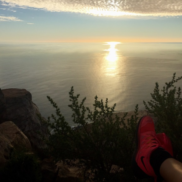 hiken op Lion's Head