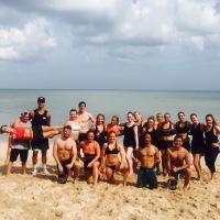 Surfen en Crossfit op Bali